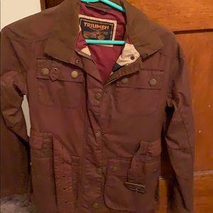 Used Women's Triumph jacket size S
